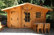 Domy ogrodowe i garaże